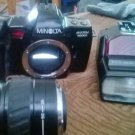 Minolta Maxxum 7000i Camera with Minolta Maxxum Flash 3200i