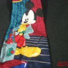 Mickey Mouse Disney Neck Tie Unlimited Thinking Blue Red Store Italy #f
