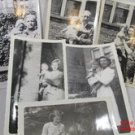 5 Photos Women with Children 1940's Black White Snapshots Vintage #f