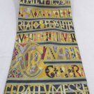 Museum Artifact Silk Neck Tie Insular Romanesque Interlace Gothic Design #f