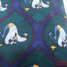 Neck Tie Aladdin Genie Coming out of Lamp Silk Walt Disney Store #f