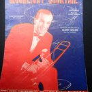 Sheet Music Moonlight Cocktail Vintage 1941 Glenn Miller Piano Voice .f
