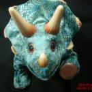 Dinosaur Triceratops Playskool Hasbro 2008 Walks Sound Prehistoric Plush .f
