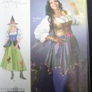 Gypsy Witch Simplicity Pattern #2521 Plus Size 18W to 24W New UnCut by K Ali .f
