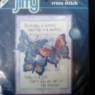 Today is a Gift Counted Cross Stitch Mini CCS Kit New Jiffy Sunset 5x7 Crafts .f