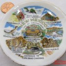 New Mexico Scenes Tiny Plate 3 inch .f