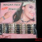 Magnetic Bracelet Pearls White Pale Green Hematite Therapy NIP 4 Arthritis 156.f