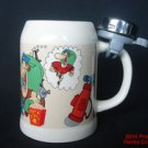 His Highness Bike Bell Coffee Mug Man PreOwned XLarge Cup #f