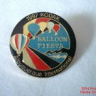 Albuquerque Kodak Balloon Fiesta Pin 1997 Black Red Turquoise Gold New Mexico .f