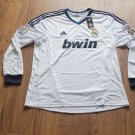 Real Madrid Home Soccer Jersey Football Shirt LS XL