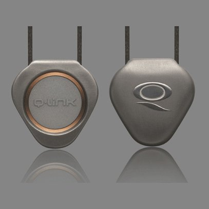 Q-Link Pendant (titanium) - Protects the body from Electromagnetic Chaos!