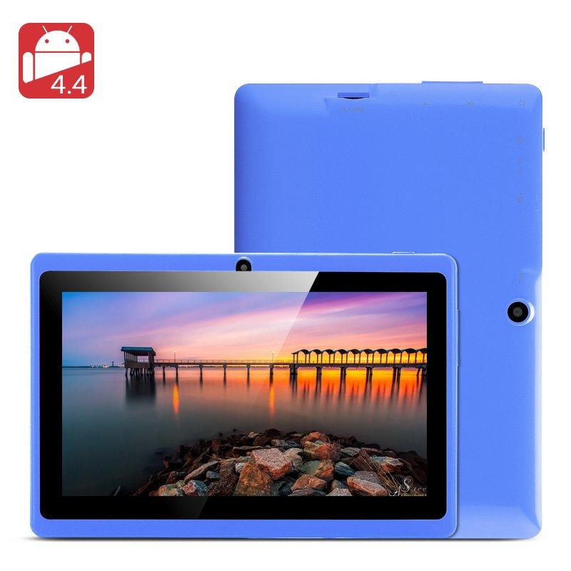 Horus 4GB 7 Inch Tablet- Allwinner A23 Dual Core CPU, 4GB Internal Memory,Blue-Free global ship