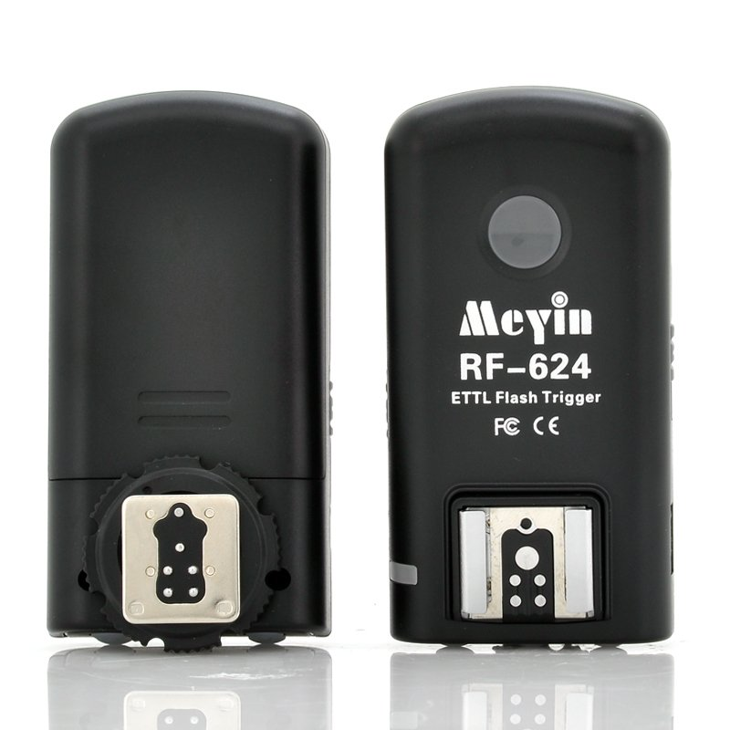 Meyin RF-624 Wireless TTL Flash Trigger For Canon Camera-200-500 Meters Distance-free world ship