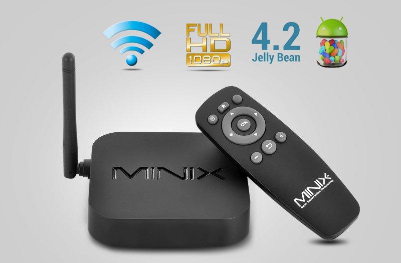 MINIX NEO X7 Mini TV Box - Quad Core CPU,2GB RAM-Free world ship