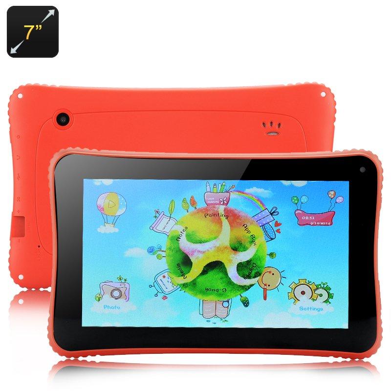 Venstar K7 Children's Tablet - 7 Inch (Red)-Free world ship