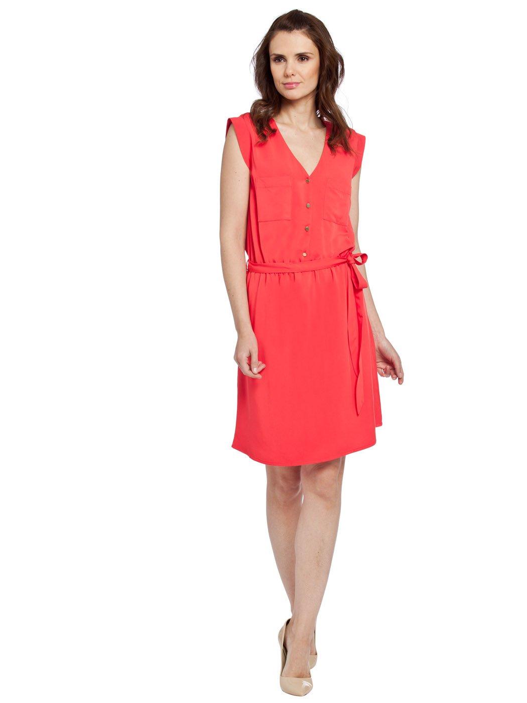 new women dress red colour turkey