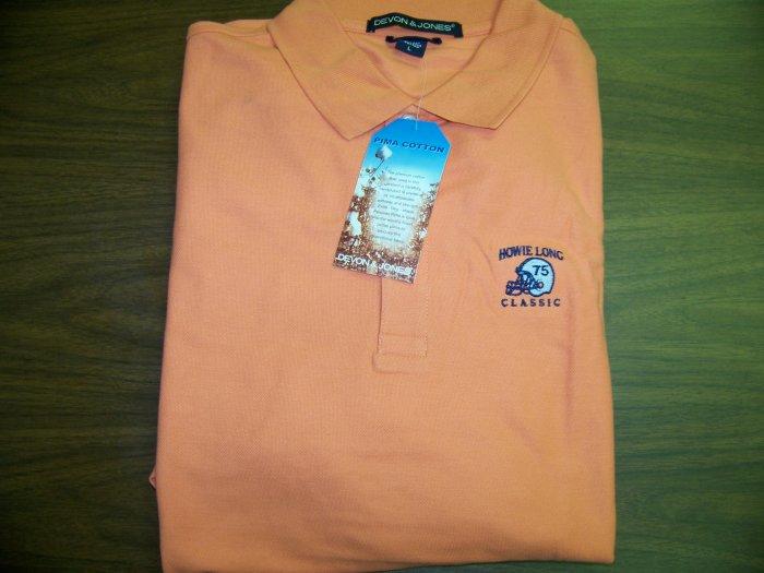 HL Golf Shirt - Orange - 2XL