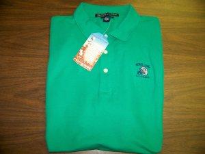 HL Golf Shirt - Green - Medium