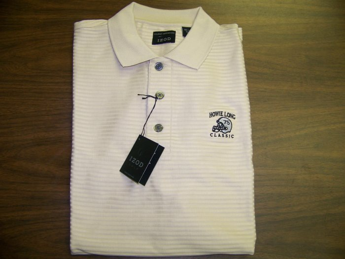 HL Golf Shirt - Tan - Large - IZOD