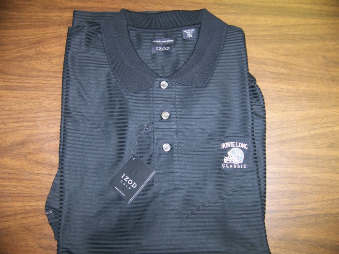 HL Golf Shirt - Black - XL - IZOD