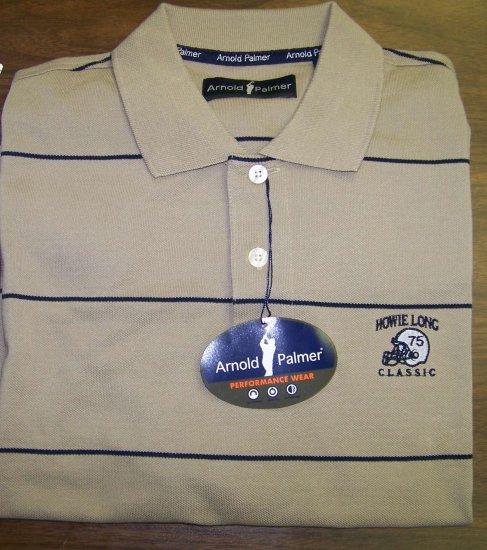 HL Golf Shirt - Brown - XXL - Arnold Palmer