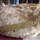 Faux Fur Hobo Bag