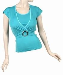 Turquoise top size M