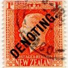 (I.B) New Zealand Revenue : Denoting 1/-