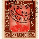 (I.B) Malaya States Revenue : Selangor Duty $25