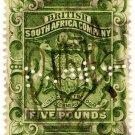 (I.B) Rhodesia/BSAC Revenue : Duty £5