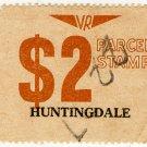 (I.B) Australia - Victoria Railways : Parcel $2 (Huntingdale)