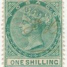 (I.B) Tobago Revenue : Duty Stamp 1/-