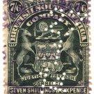(I.B) Rhodesia/BSAC Revenue : Duty 7/6d