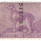 (I.B) QV Revenue : Ireland Dog Licence 2/-
