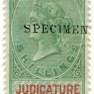 (I.B) QV Revenue : Judicature Ireland 10/- (1878)