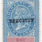 (I.B) QV Revenue : Admiralty Court Ireland 1/-