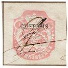 (I.B) QV Revenue : Customs Duty 10/- (die H)