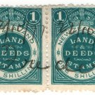 (I.B) New Zealand Revenue : Land & Deeds 2/- (large format)