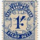 (I.B) Papua New Guinea Revenue : Stamp Duty 1/-
