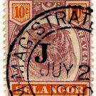 (I.B) Malaya States Revenue : Selangor Judicial 10c