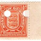 (I.B) Guernsey Revenue : Workmen's Compensation ½d
