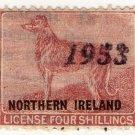 (I.B) George VI Revenue : Dog Licence (Northern Ireland) 4/- OP