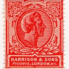 (I.B) Cinderella : Harrison & Sons - Dummy Stamp