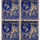 (I.B) Barbados Revenue : Duty 1d OP