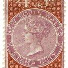 (I.B) Australia - NSW Revenue : Stamp Duty 4/-