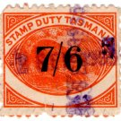 (I.B) Australia - Tasmania Revenue : Stamp Duty 7/6d