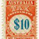 (I.B) Australia Revenue : Tax Instalment $10