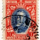 (I.B) Southern Rhodesia Revenue : Duty Stamp 10d
