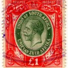 (I.B) South Africa Revenue : Duty Stamp £1