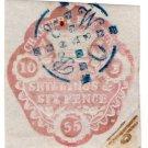 (I.B) QV Revenue : Chancery Court 2/6d (1853)